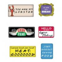 Friends-Magnet set of 6